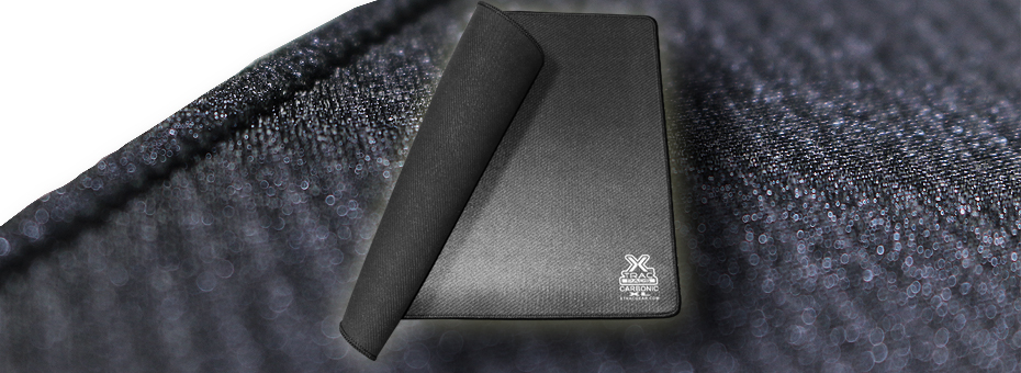 Carbonic XL is our extra large computer gamer mouse pad that features our polished textile surface for extra speed and mouse glide.